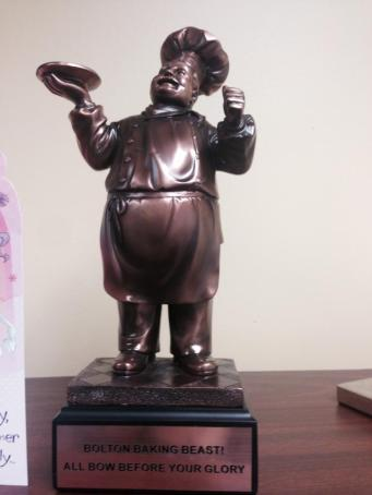 Bolton Bake-Off Trophy
